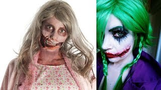 💄 Best Makeup Halloween 2018 | 👻Top 8 Easy Halloween Makeup Tutorial Scary Compilation 2018 #7