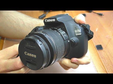 Не включается зеркальная фотокамера Canon 1200D / Странный ремонт
