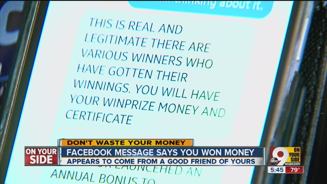 Facebook money giveaway: is it for real?