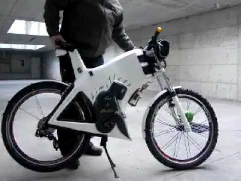 limitless gas electric bicycle youtube. Black Bedroom Furniture Sets. Home Design Ideas