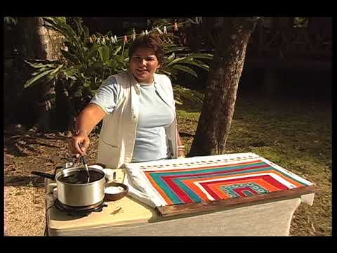 Hand-painted Batik Tablecloth