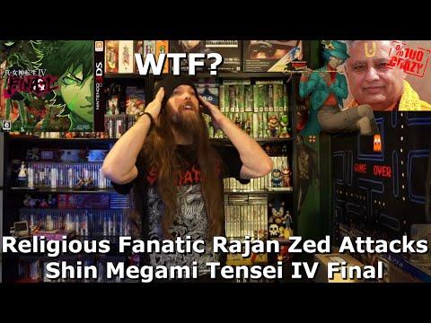 Religious Fanatic Rajan Zed Attacks Shin Megami Tensei IV Final
