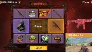 COD Mobile | Melting Point Draw $10 Dolla Crate Opening | Didn't get as lucky as I hoped