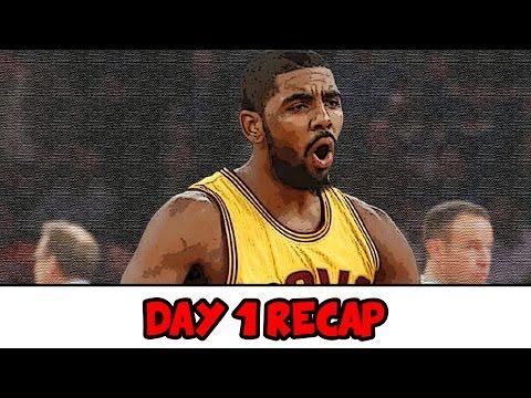 SO MANY FLAMES! | 2016-2017 NBA Season Day 1 Recap