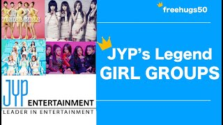 JYP Girl Group Legends: ITZY, TWICE, Miss A, Wonder Girls, New Japanese Girl Group