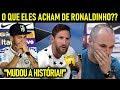 RONALDINHO MAIS HABILIDOSO da HISTÓRIA!! - os JOGADORES FALARAM!! - feat NEYMAR, MESSI