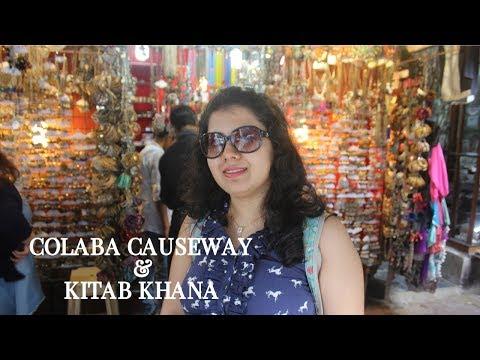 Colaba Causeway Shopping and Kitab Khana in Mumbai | Shopping Vlog