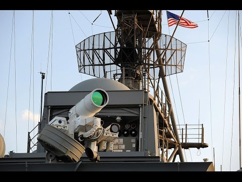 Feared U.S Navy  : Laser Weapon System (XN-1 LaWS) Tested aboard USS Ponce