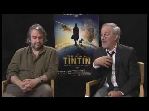 boys Peter Jackson, Steven Spielberg talk Tintin, Jaws with Kate Rodger  hub