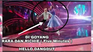 Download lagu HEBOH !!!! RARA FEAT RICHIE ( FIVE MINUTES ) HELLO DANGDUT