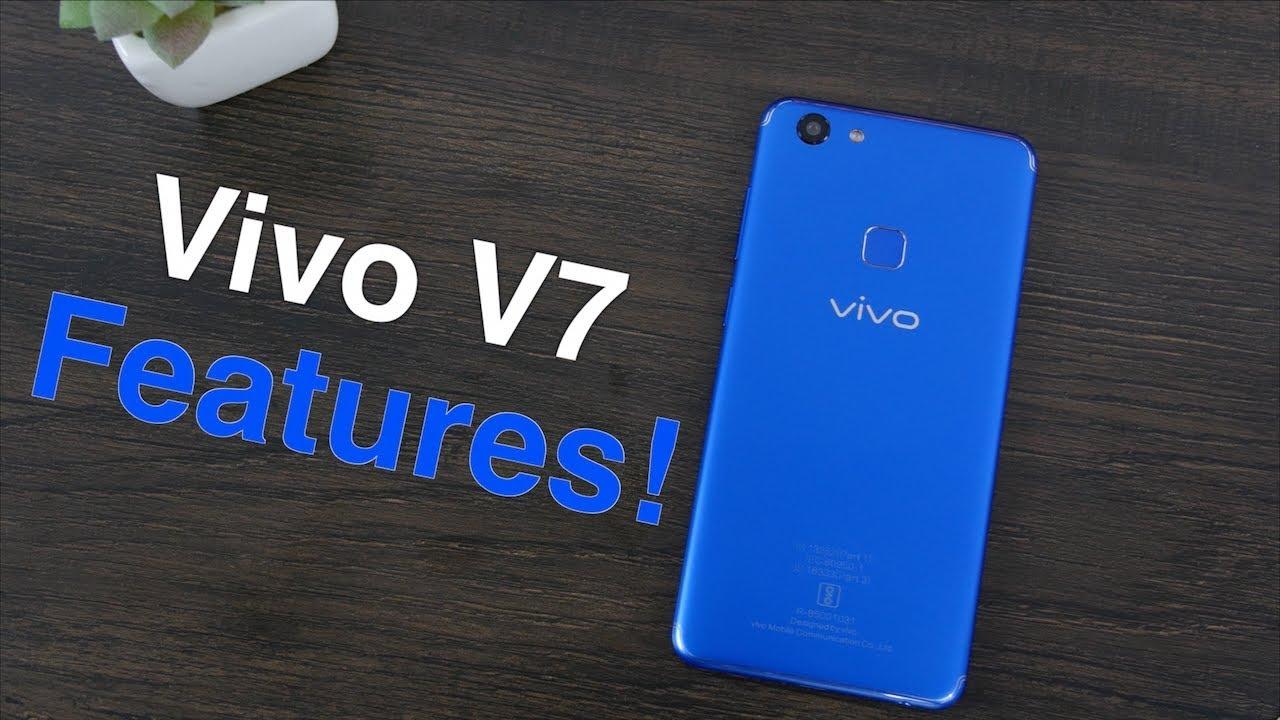 Vivo V7 Top 10 Software Features!✋🏻🤚🏻