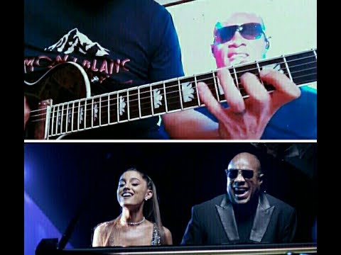 Leonardo Serasini - Faith (Stevie Wonder ft. Ariana Grande - Guitar Tutorial)