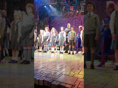 Matilda Melbourne Final Curtain Call