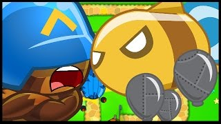 WHAT THE HECK IS THIS?! - Bloons TD Battles - Let's Play The PC Version!