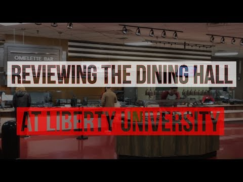 Reviewing Dining Hall Food at Liberty University//