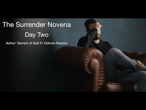 Day 2 Surrender Novena