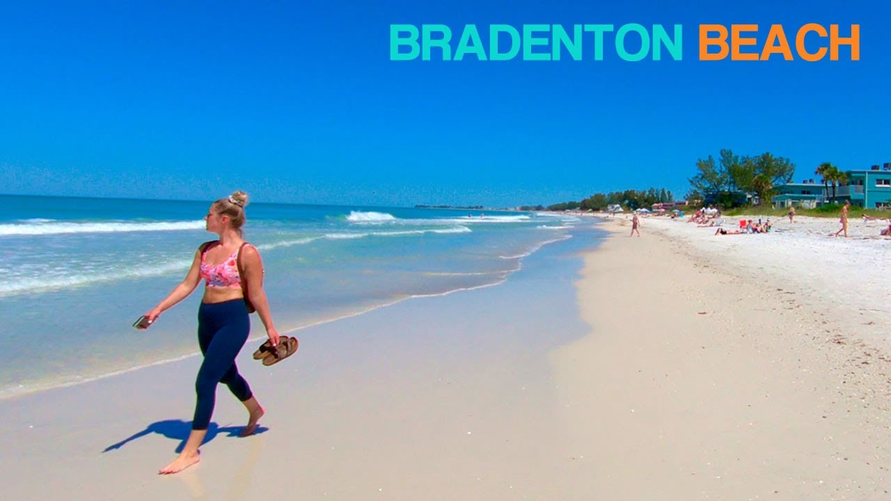 Bradenton Beach, Anna Maria Island, Florida | Walking Tour