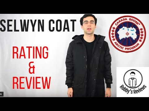 Canada Goose: Selwyn Coat Rating And Review