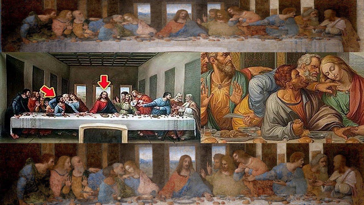 El Sorprendente Enigma De La Ultima Cena De Da Vinci Youtube