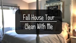 *Updated* Fall Home Tour // Clean With Me