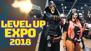 LVL UP EXPO 2018 | Cosplay Showcase Montage | GoodguyGastly