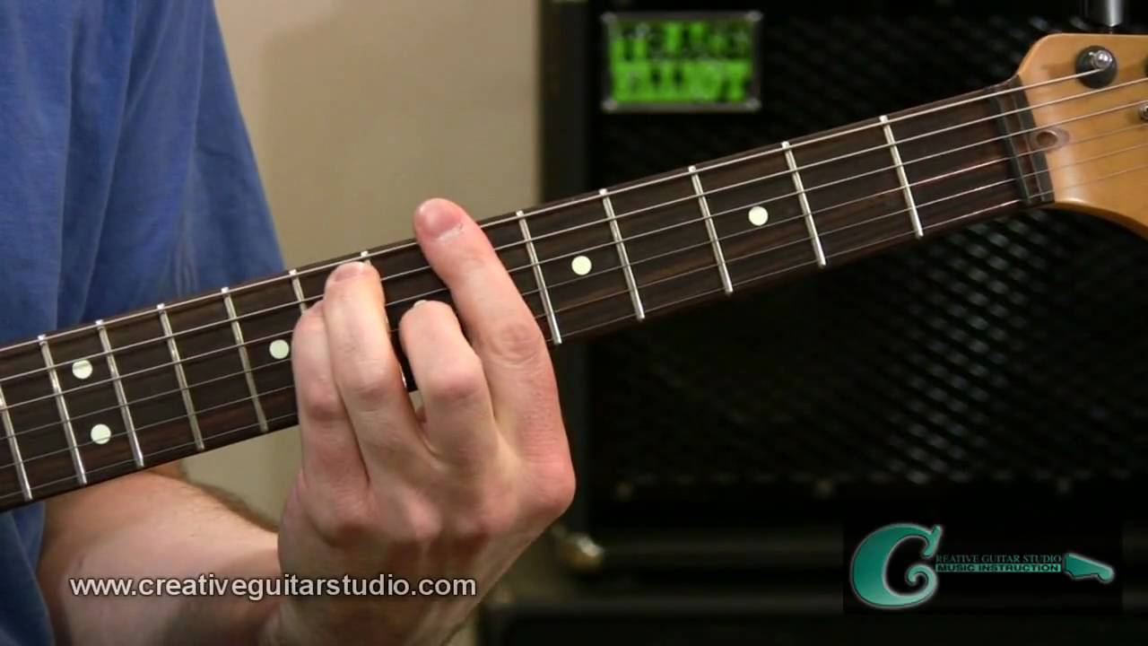 Guitar lesson secondary dominant chords youtube hexwebz Choice Image