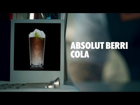 ABSOLUT BERRI COLA DRINK RECIPE - HOW TO MIX