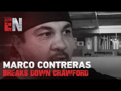 Mean Machine Coach Marco Contreras Breaks Down Crawford Vs Egis Kavaliauskas