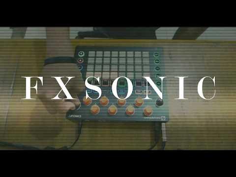 Novation Circuit - Tech House Live Set | FXSONIC Circuit Jam 10242017