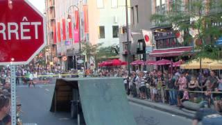 Midnight rider BMX stunt team à Trois-riviere