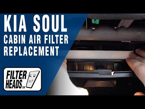 How to Replace Cabin Air Filter 2018 Kia Soul