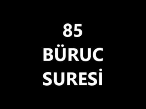 85 BÜRUC SURESİ