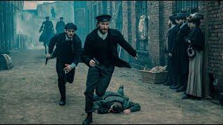 """""""Młody Piłsudski"""" – Niebezpieczne ulice – scena z odc. 8"""