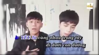 Yêu 5 của hai thánh hát chế Karaoke HD 720p