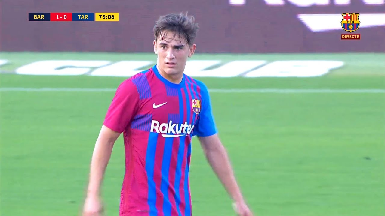 Download 16-Year-Old Gavi Debut vs Gimnàstic | 21/07/2021