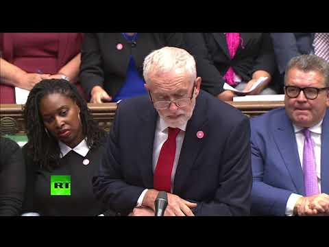 Corbyn faces off with May over McDonald