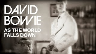 Смотреть клип David Bowie - As The World Falls Down