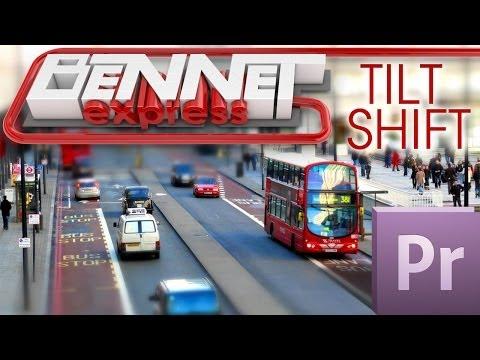 Эффект Tilt Shift в Adobe Premiere