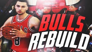 THE BEST TEAM EVER?!! REBUILDING THE CHICAGO BULLS!! NBA 2K18 MYLEAGUE