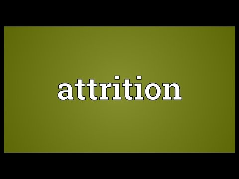 Attrition Meaning