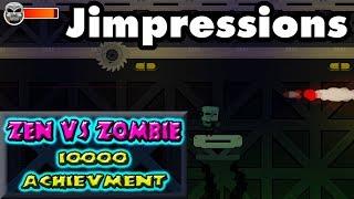 ZEN vs ZOMBIES ACHIEVEMENT HUNTER - It Lists 10,000 Achievements As A Gameplay Feature
