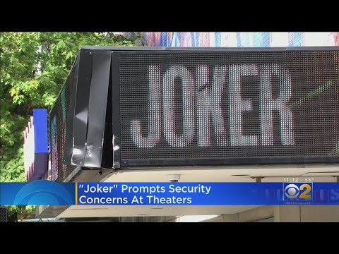 Police, Movie Theaters Step Up Security For 'Joker' Release