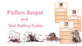 Food Fantasy - Basic Fallen Angel Guide and How to GOD Roll them