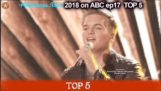 """Caleb Lee Hutchinson sings """"So Small"""" HIS VOICE SO AUTHENTIC American Idol 2018 Top 5"""
