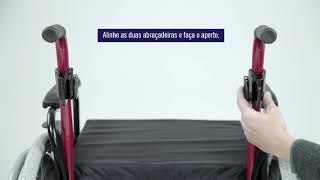 Encosto Anatômico Hummel - Para cadeira de rodas Ortobras