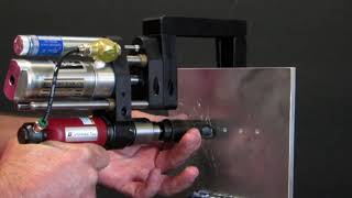 Andrews Tool Co - Power Feed Countersink Tool Demonstration