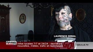 Cette calaisienne veut devenir la femme la plus tatouee de France
