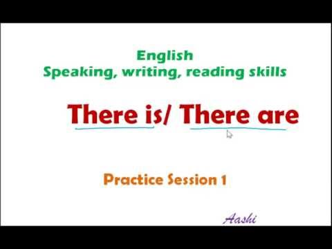 Grammar practice session there is there are practice for There is there are pictures