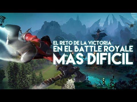 EL RETO DE LA VICTORIA EN EL BATTLE ROYALE MAS DIFICIL QUE HE JUGADO
