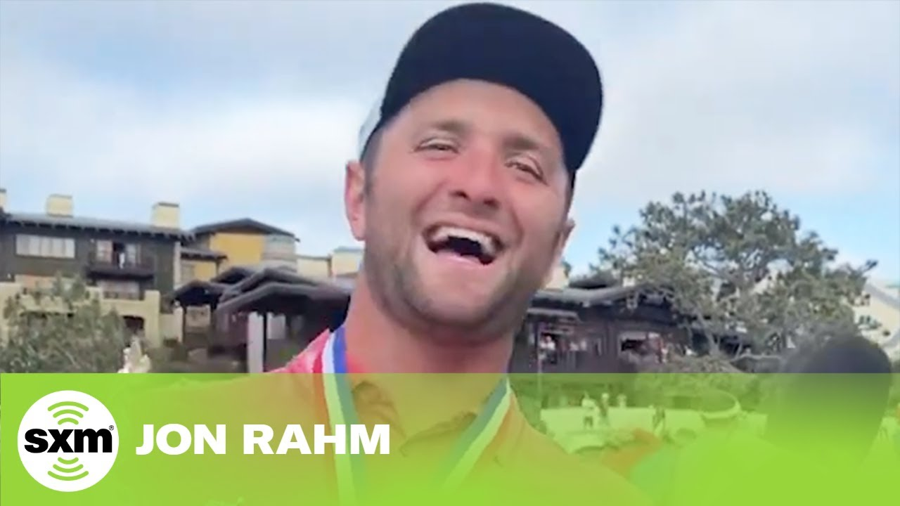 John Rahm Celebrates U.S. Open Win on His First Father's Day as a Dad